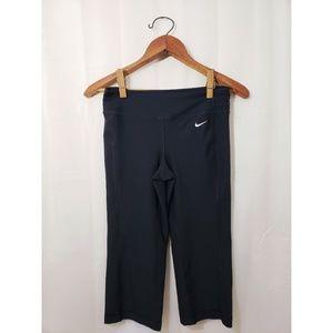 Nike Black Be Bold Dri-FIT Capri Pants Athletic